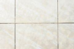 Dirty tile on bathroom floor Stock Image