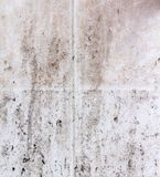 Dirty tiles background texture. White dirty tiles background texture wall Stock Photos