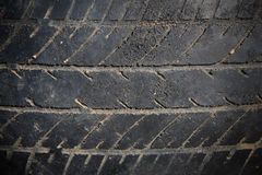 Dirty tire texture Stock Photography
