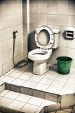 Dirty Toilet Royalty Free Stock Photography