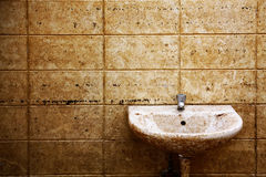 Dirty Toilet Royalty Free Stock Images