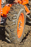 Dirty Tractor Tire Royalty Free Stock Image