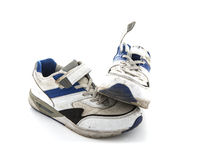 Dirty Trainers Stock Images