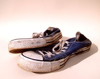 Dirty Trainers / Sneakers Royalty Free Stock Images