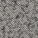dirty Tread or diamond plate Stock Image