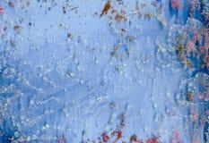 Dirty untidiness creative art glass mud Royalty Free Stock Photo