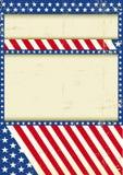 Dirty USA background Stock Photos
