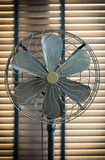 Dirty vintage fan Royalty Free Stock Image