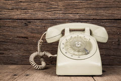 Dirty Vintage telephone Royalty Free Stock Photography