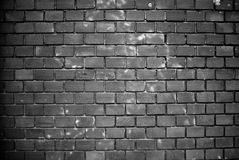 Dirty wall. A dirty wall with red bricks Royalty Free Stock Photos