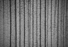 Dirty wall elevation with stripes. Dirty black and white wall elevation with stripes, abstraction Royalty Free Stock Photo