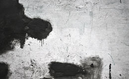Dirty wall with spills paint Royalty Free Stock Photography