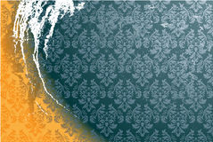 Dirty wallpaper vector Royalty Free Stock Photo