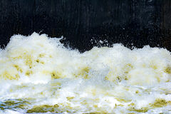 Dirty waste water backround Stock Images