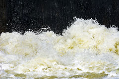 Dirty waste water backround Stock Photography