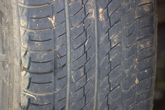 Dirty wheel Royalty Free Stock Photography