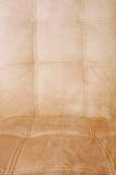 Dirty white leather sofa Royalty Free Stock Image