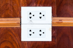 Dirty white outlet Stock Photography