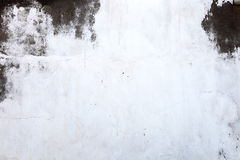Dirty White wall Stock Photography