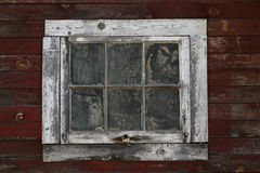 Dirty Window. A dirty and weathered window Royalty Free Stock Photos