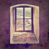 Dirty Window Royalty Free Stock Image