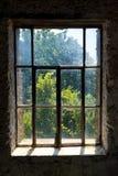 Dirty Window Overlook Stock Image