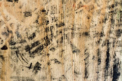 Dirty wood board, background and texture. Stock Image