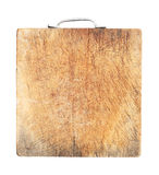 Dirty wooden cutting board Stock Photography