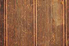 Dirty wooden deck tile flooring. Top view, abstract background texture royalty free stock photography