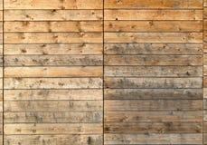 Dirty wooden facade Stock Photos