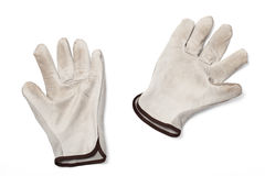 Dirty Work Gloves Royalty Free Stock Images