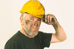 Dirty worker Stock Images