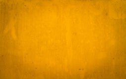 Dirty yellow metal plate Royalty Free Stock Image