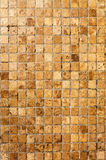 Dirty yellow mosaic floor Royalty Free Stock Photo