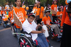 Disabilities parade Stock Photos