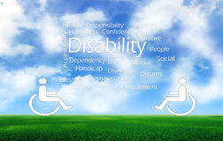 Disabilities Royalty Free Stock Photo