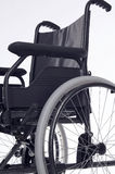 Disability. Wheelchair standing on white background Stock Photography