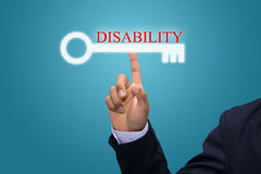 Disability concept Stock Photos