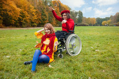 Disability Royalty Free Stock Images