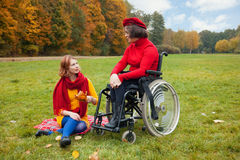 Disability Royalty Free Stock Photos