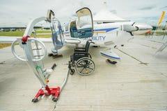 Disability equipment Stock Photos