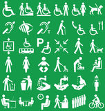 Disability and people Graphics Stock Photography