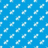 Disability protection pattern vector seamless blue. Repeat for any use Stock Photos