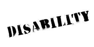 Disability rubber stamp Stock Images
