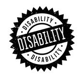 Disability rubber stamp Royalty Free Stock Photography