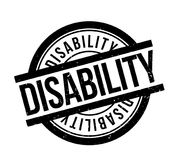 Disability rubber stamp Stock Photo