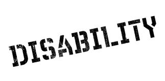 Disability rubber stamp Royalty Free Stock Photo