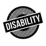 Disability rubber stamp Royalty Free Stock Image