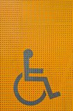 Disability sign Stock Photography
