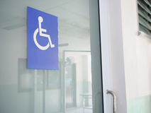 Disability sign Stock Image
